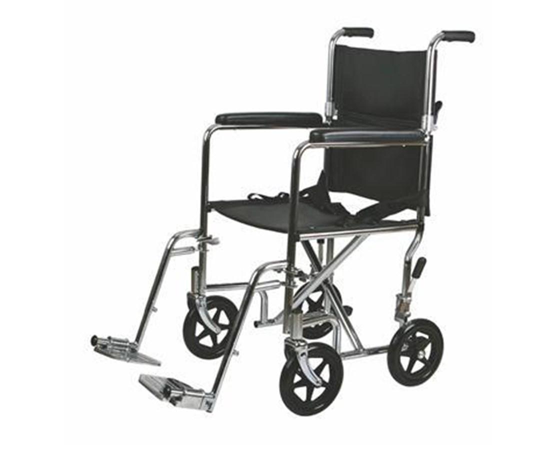 Medline MDS808200 Excel Steel Transport Chair