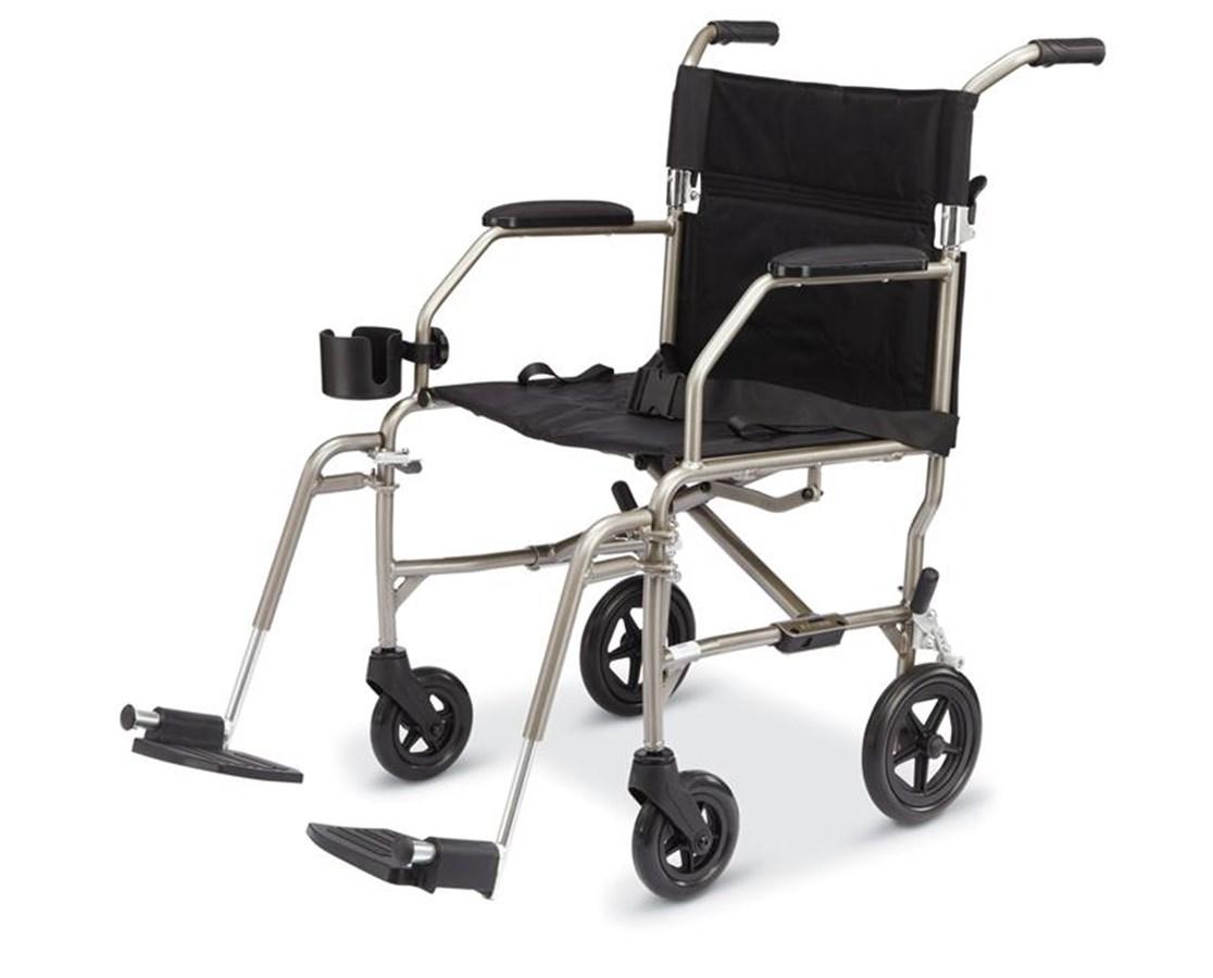 Medline MDS808200SLBR Excel Freedom Transport Chair