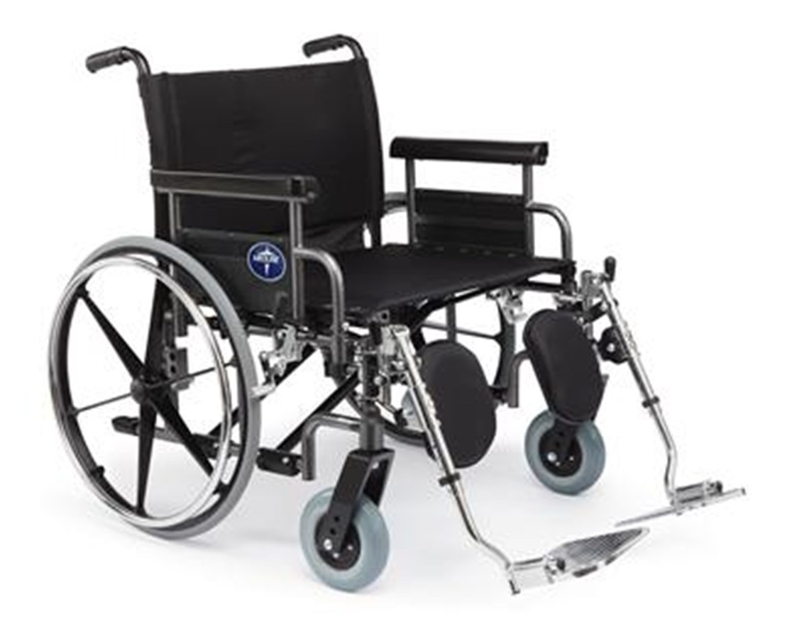 Excel Shuttle Extra-Wide Wheelchair MEDMDS809750