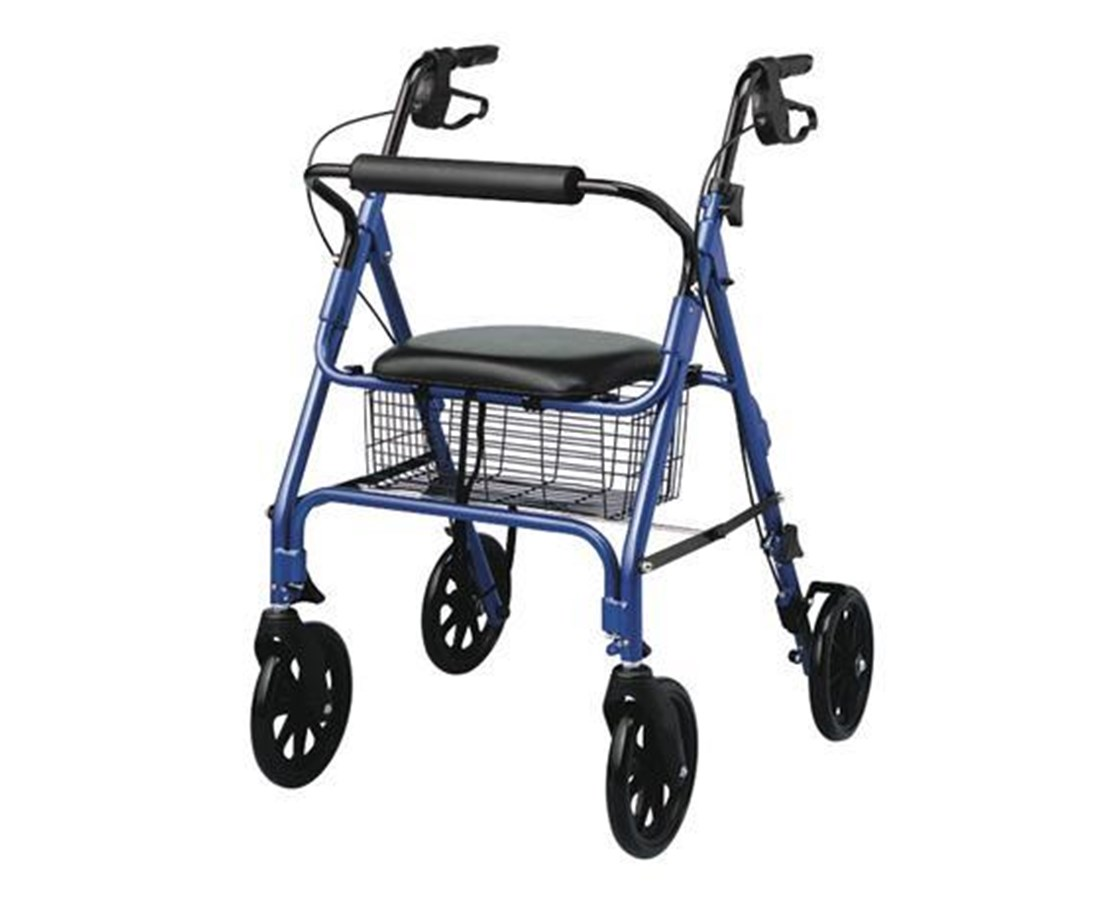 Medline MDS86825 Freedom Rollator 8-Inch Wheels