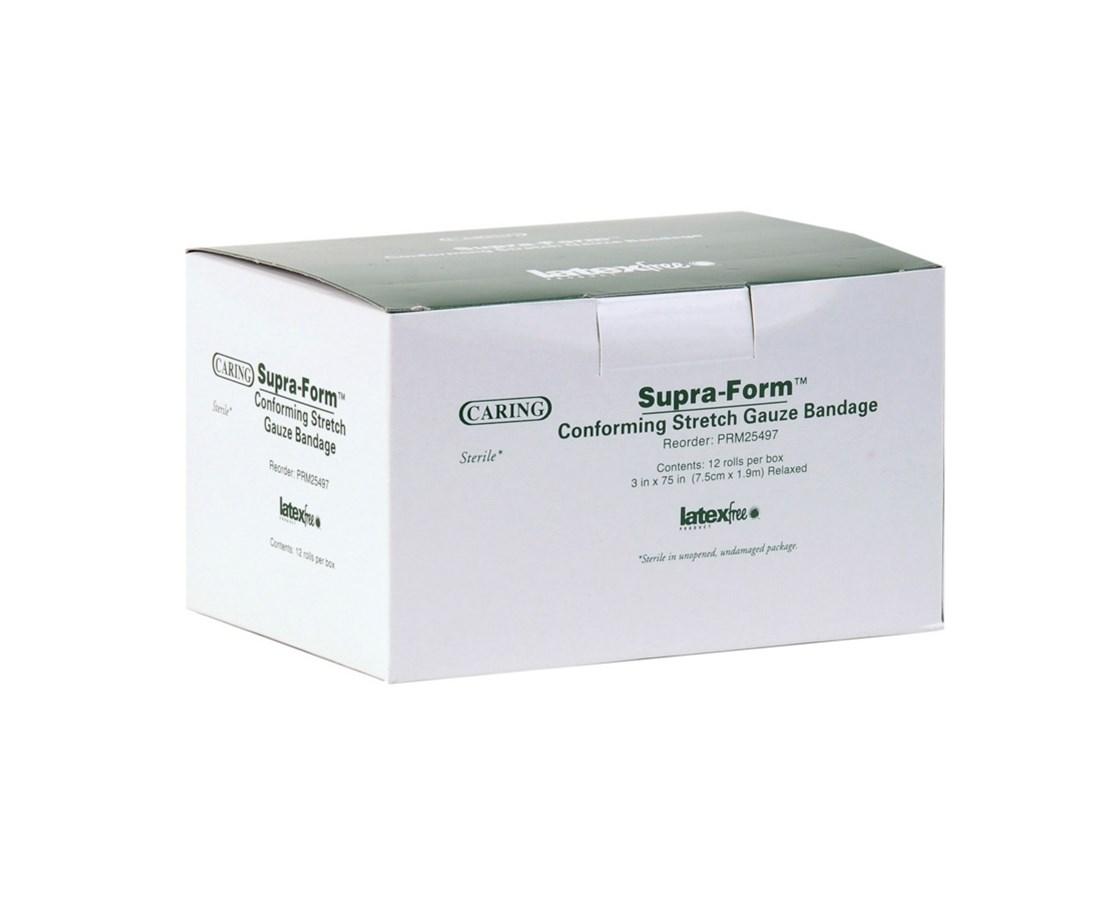 Caring Supra Form Sterile Conforming Bandages MEDPRM25497Z
