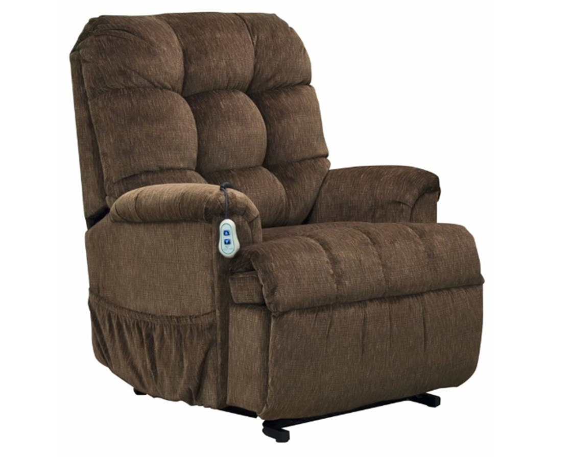 Midsize Wall-A-Way Power Lift Chair & Chaise Recline Model MED5500W