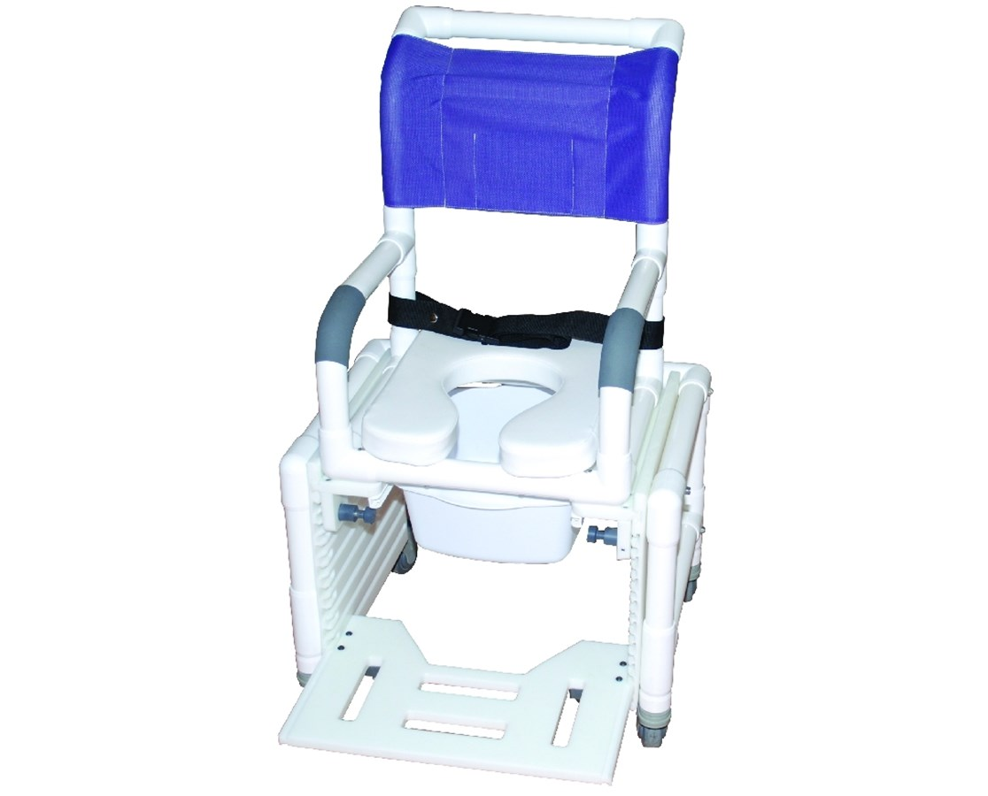 MJM 114-L-3TL-ADJ Pediatric Adjustable Commode Shower Chair
