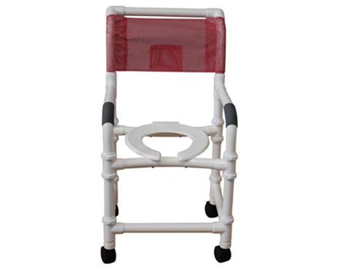 MJM118-3-KD Knock Down Commode Shower Chair