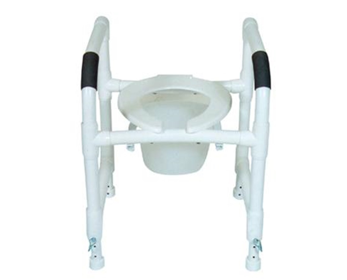 MJM190-TSF-A Adjustable Height Toilet Safety Frame Commode