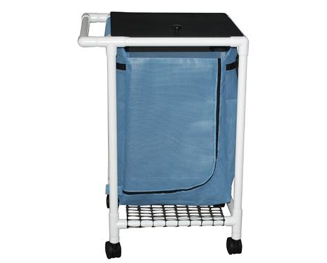 MJM 214-S-MRI Non-Magnetic Single Hamper with Mesh Bag