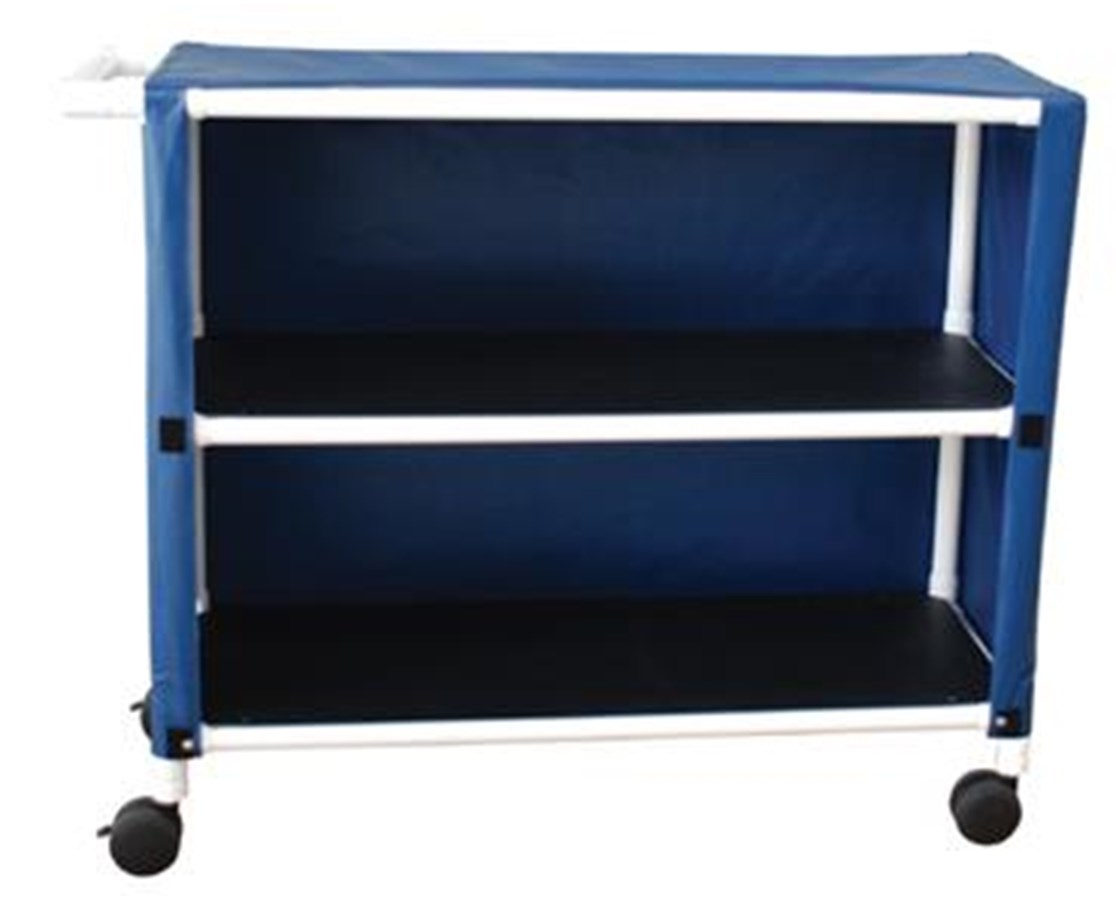 MJM 345-2C-3 Two Shelf Linen Carts