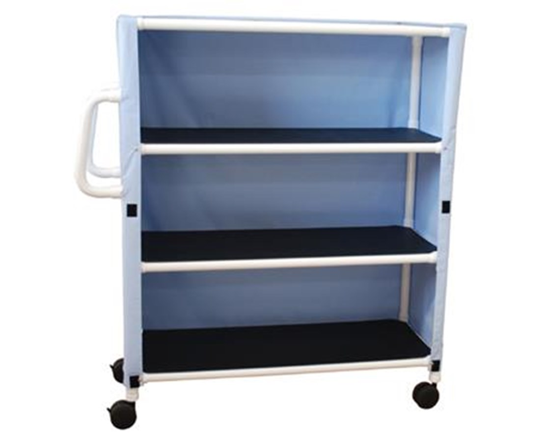 MJM 345-3C-3 Three Shelf Linen Carts