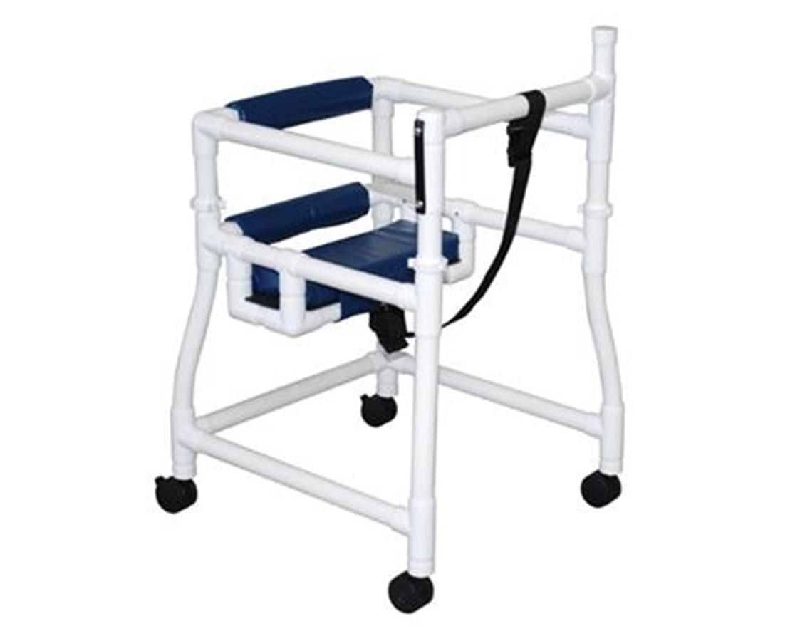 MJM 415-3-HS Stroller/Walker with Hard Seat