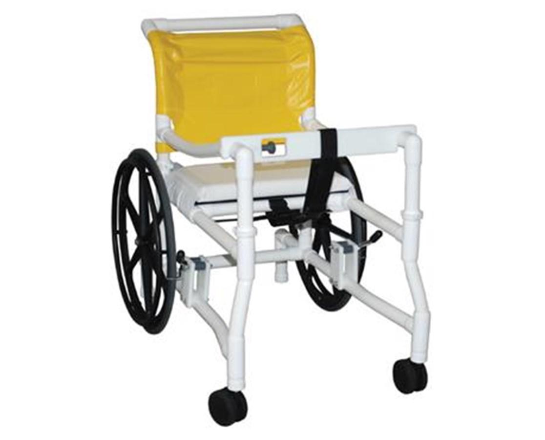 MJM 418-24 Height Adjustable Combination Transport/Walker Chair