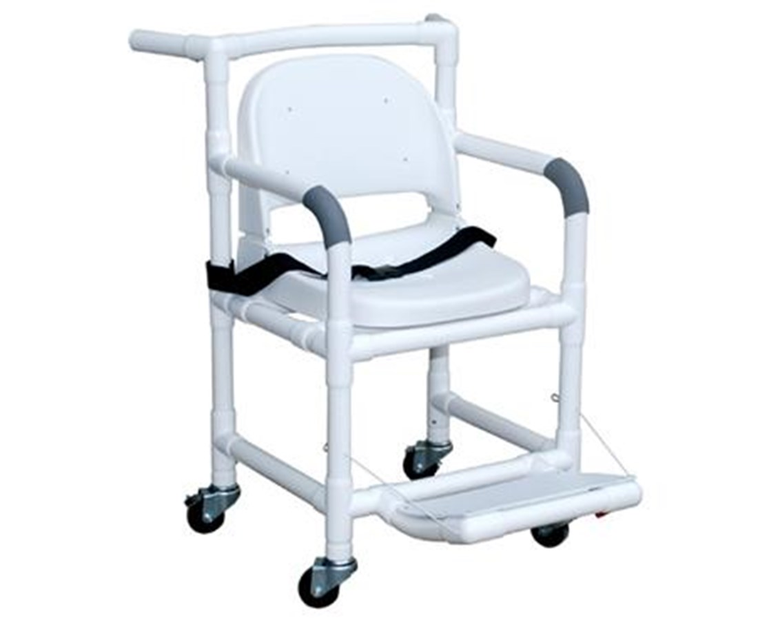 "MJM 500-FS 20"" MJM MRI Compatible Transfers chair with Full Support Seat"