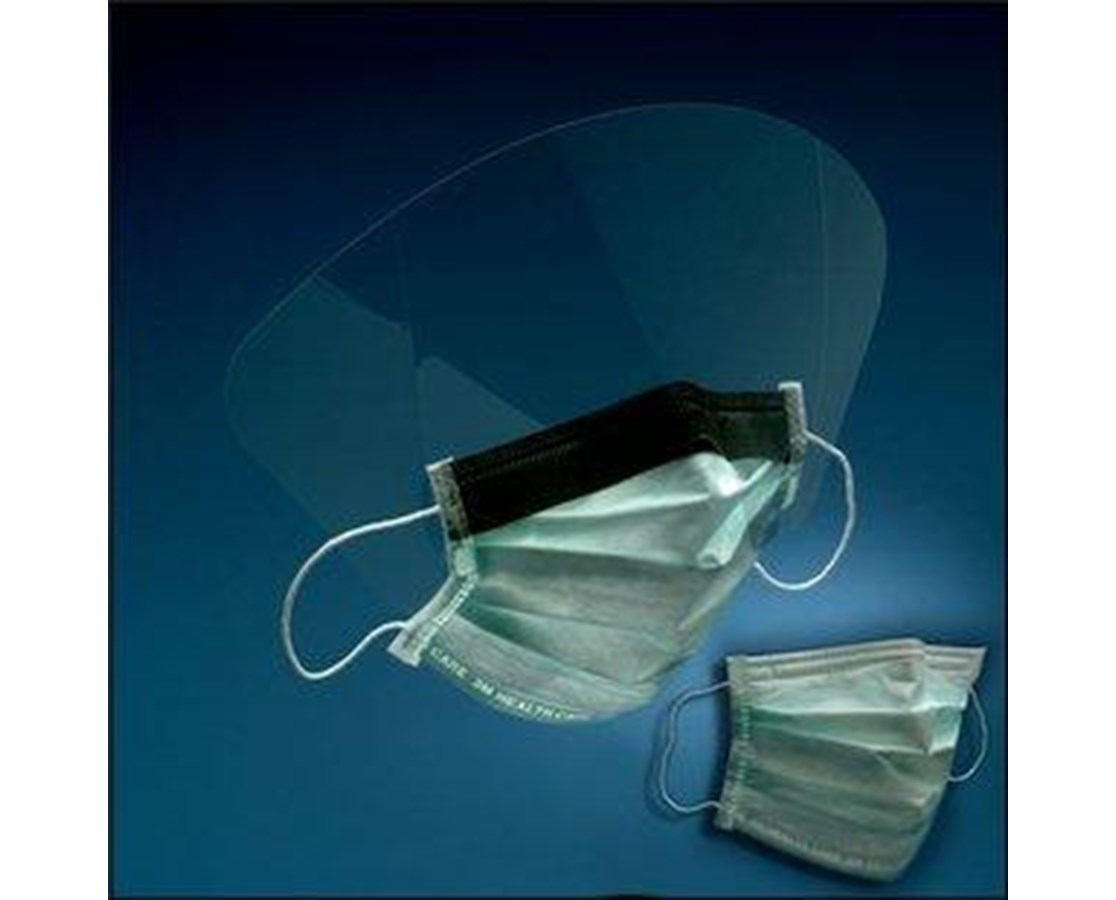 High Fluid Resistant Procedure Mask With/Without Face Shield MMM1840-