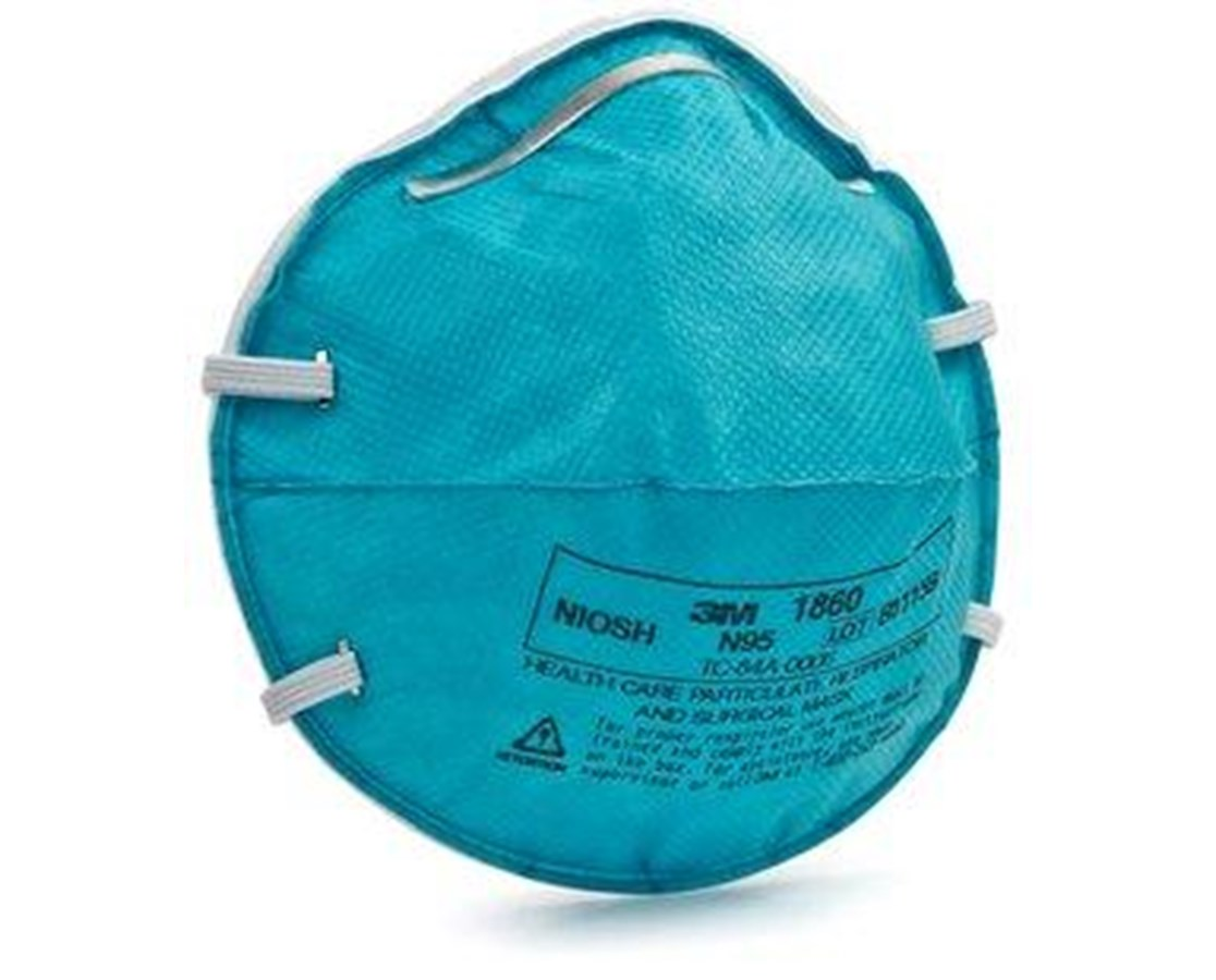 Cone Molded N95 Particulate Respirator & Surgical Mask MMM1860S-