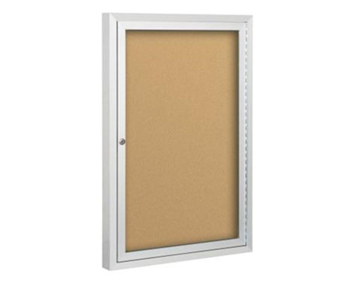 Deluxe Bulletin Board Cabinet MOO95HAB-