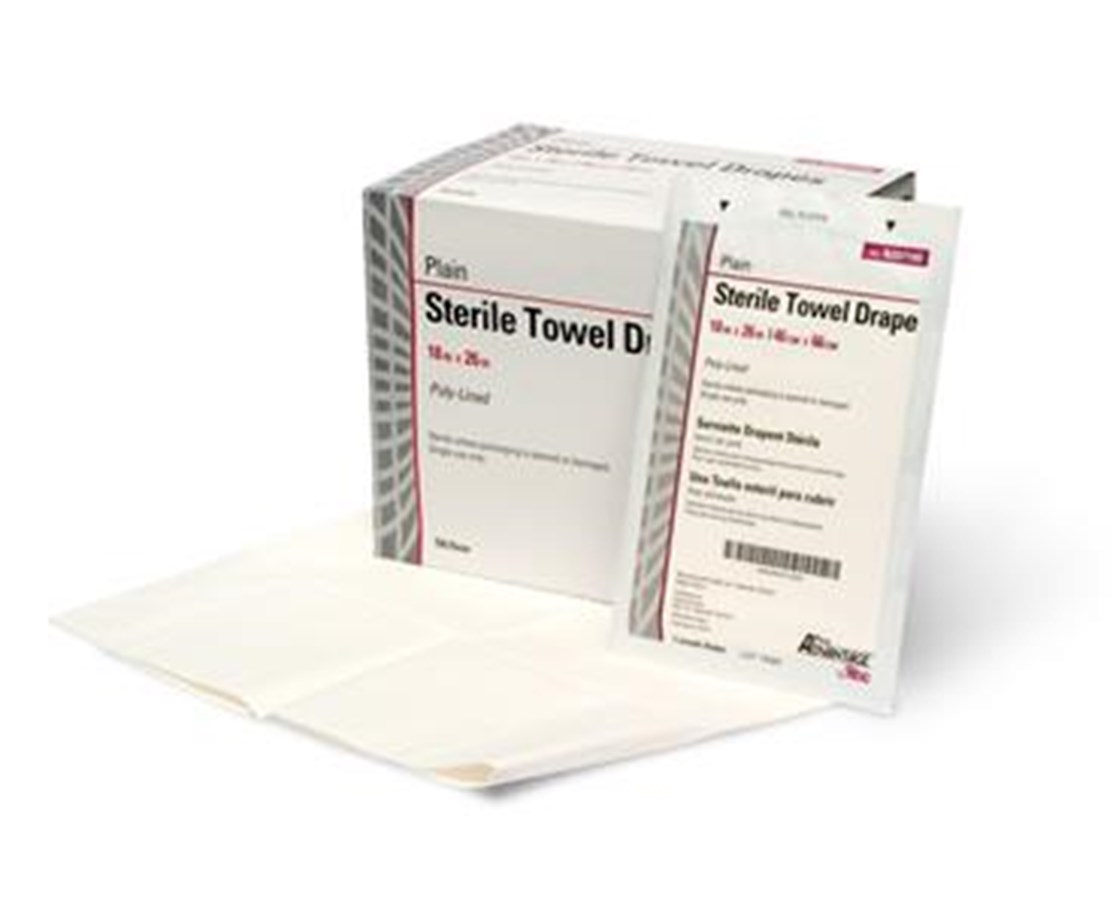 "Sterile Towel Drapes - 18"" x 26"""