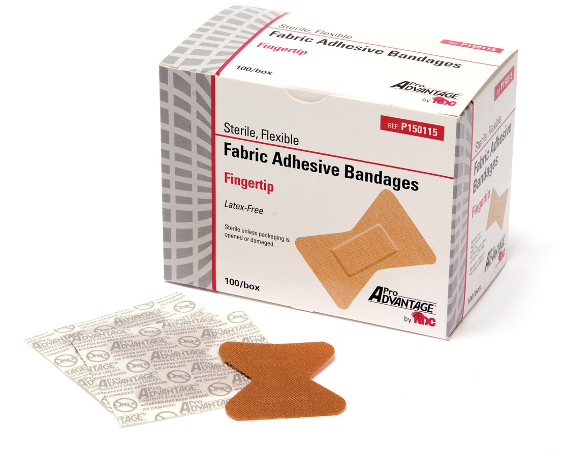 Fabric Adhesive Bandages, Finger Tip NDCP150115