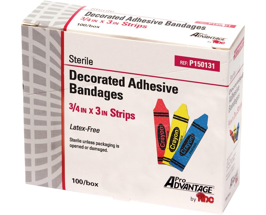 Crayon Adhesive Bandage NDCP150131