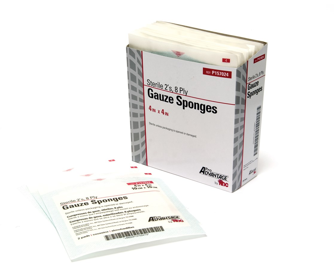 Gauze Sponges - Sterile NDCP157002