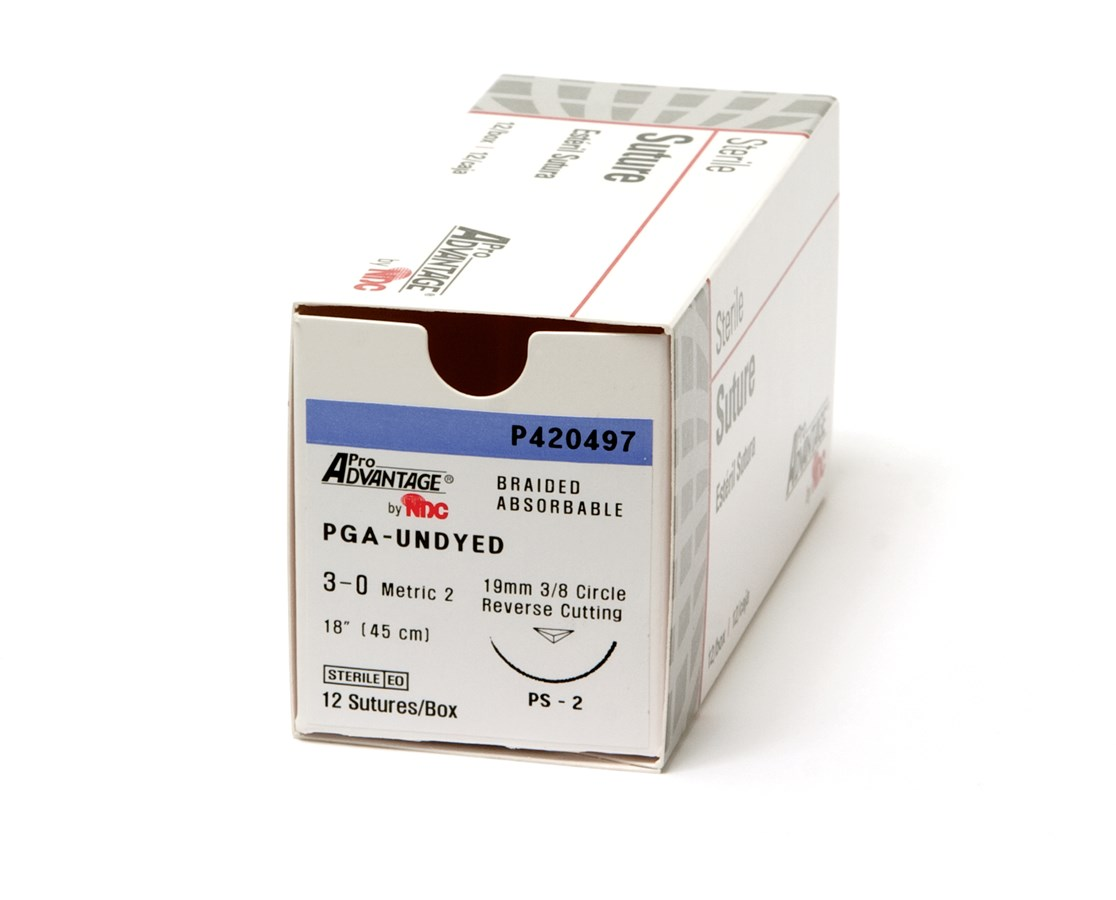 Braided Polyglycolic Acid (PGA) Sutures NDCP420422-