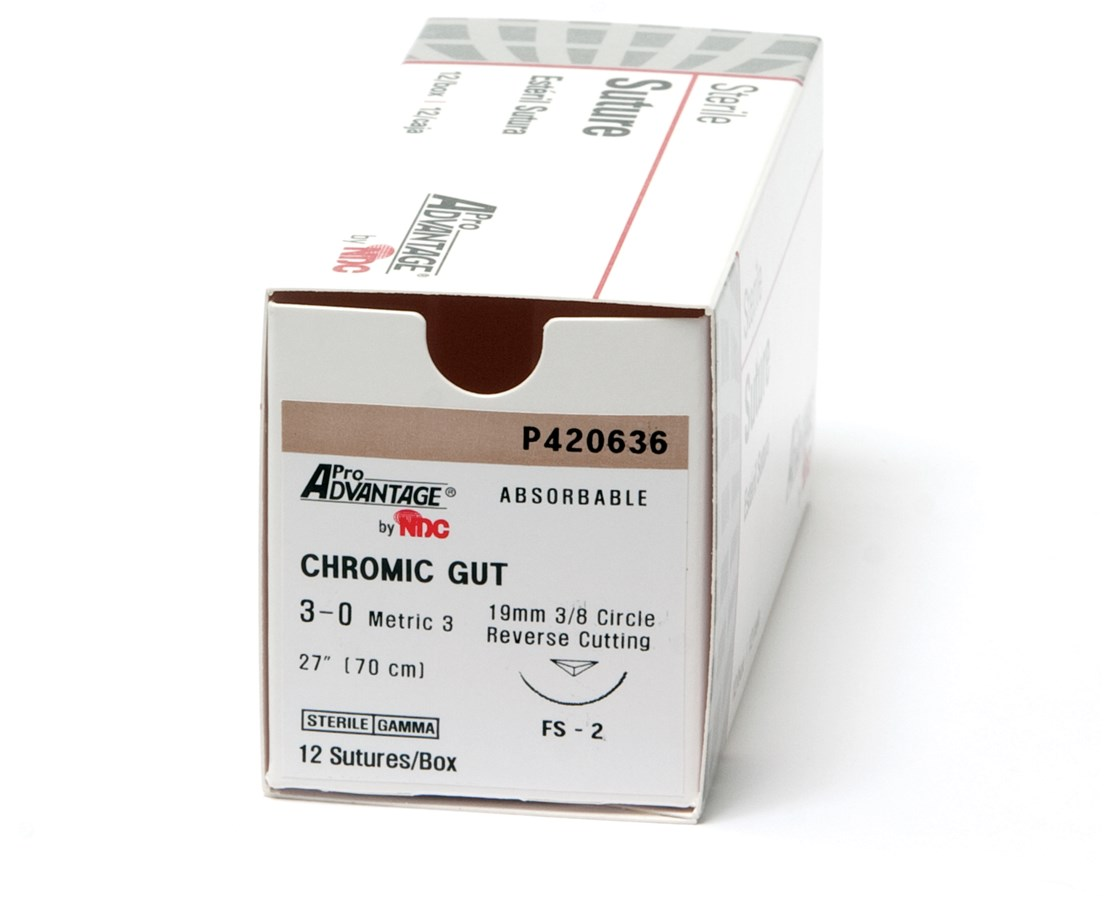 Chromic Gut Sutures NDCP420635-