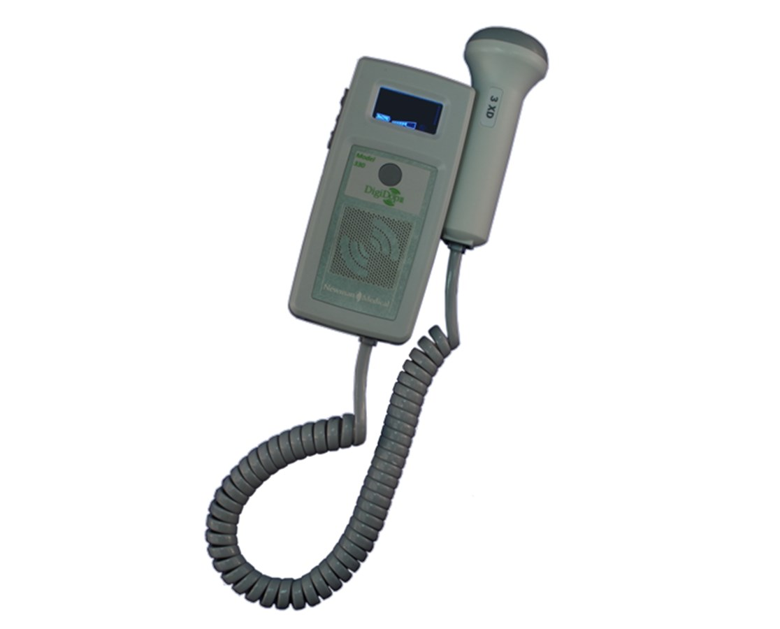 DigiDop II 330R Handheld Obstetric Doppler, Rechargeable NEWDD-330R-D2