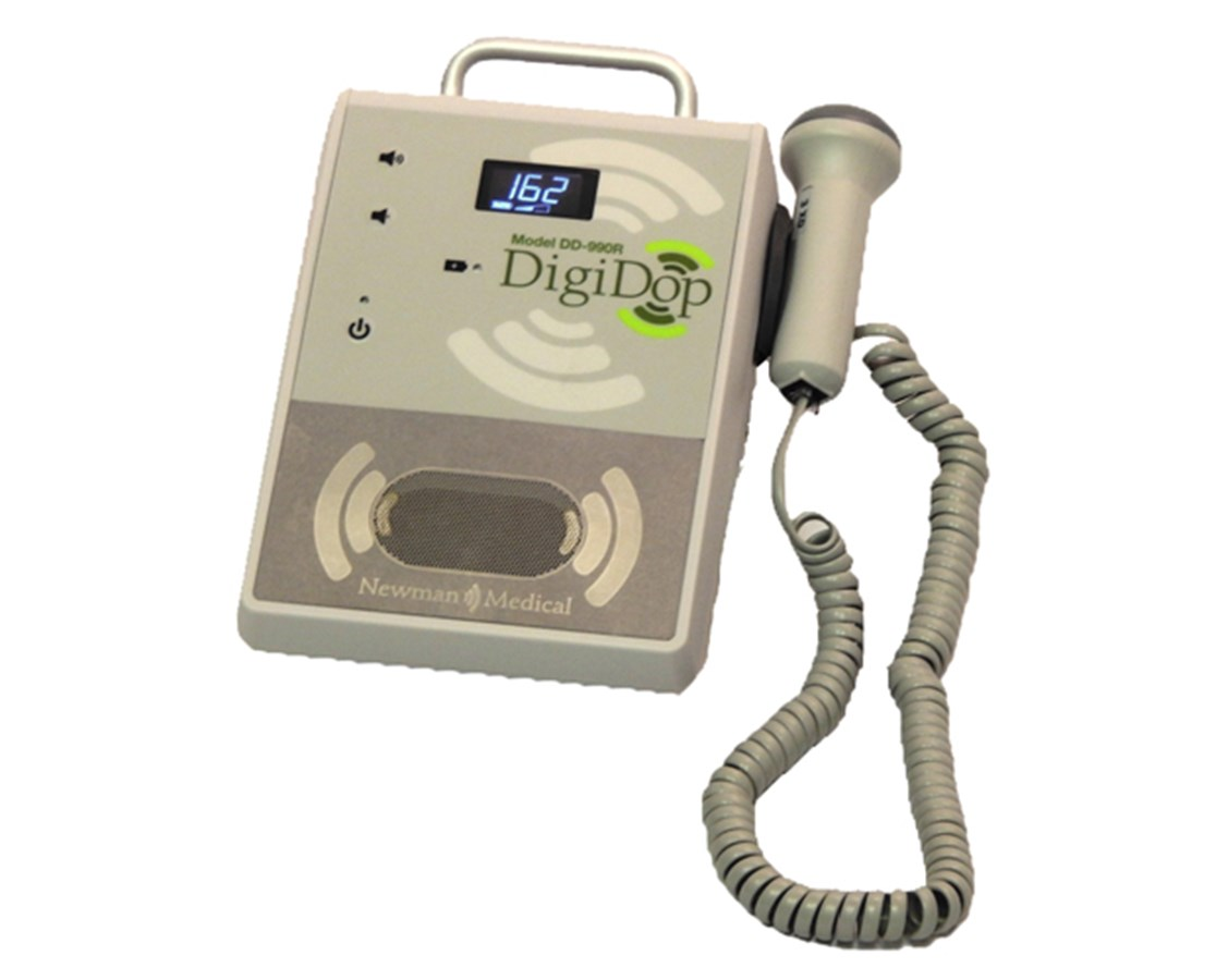 DigiDop II 990R Tabletop Vascular Doppler with 8MHz Extended Depth Probe NEWDD-990R-D8