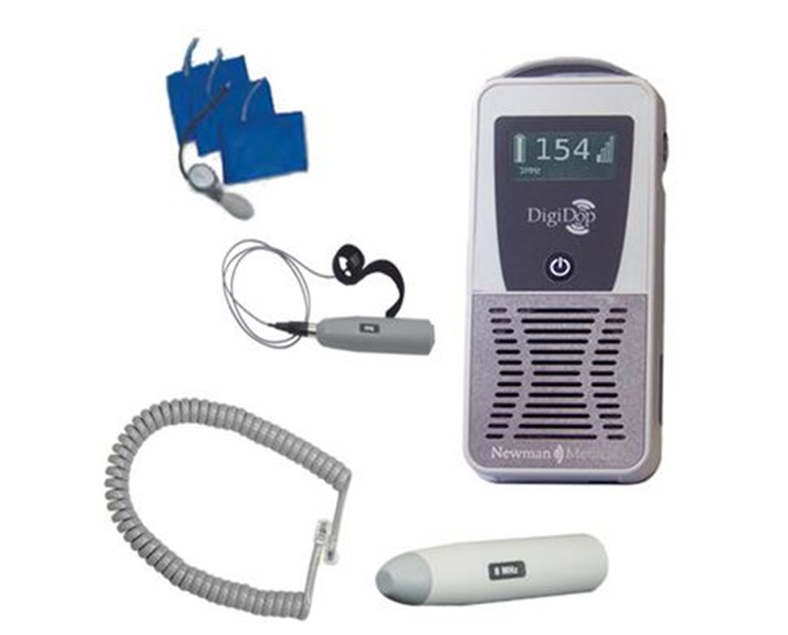 DigiDop 300 Handheld Vascular Doppler with Accessory Package NEWDD-PAD