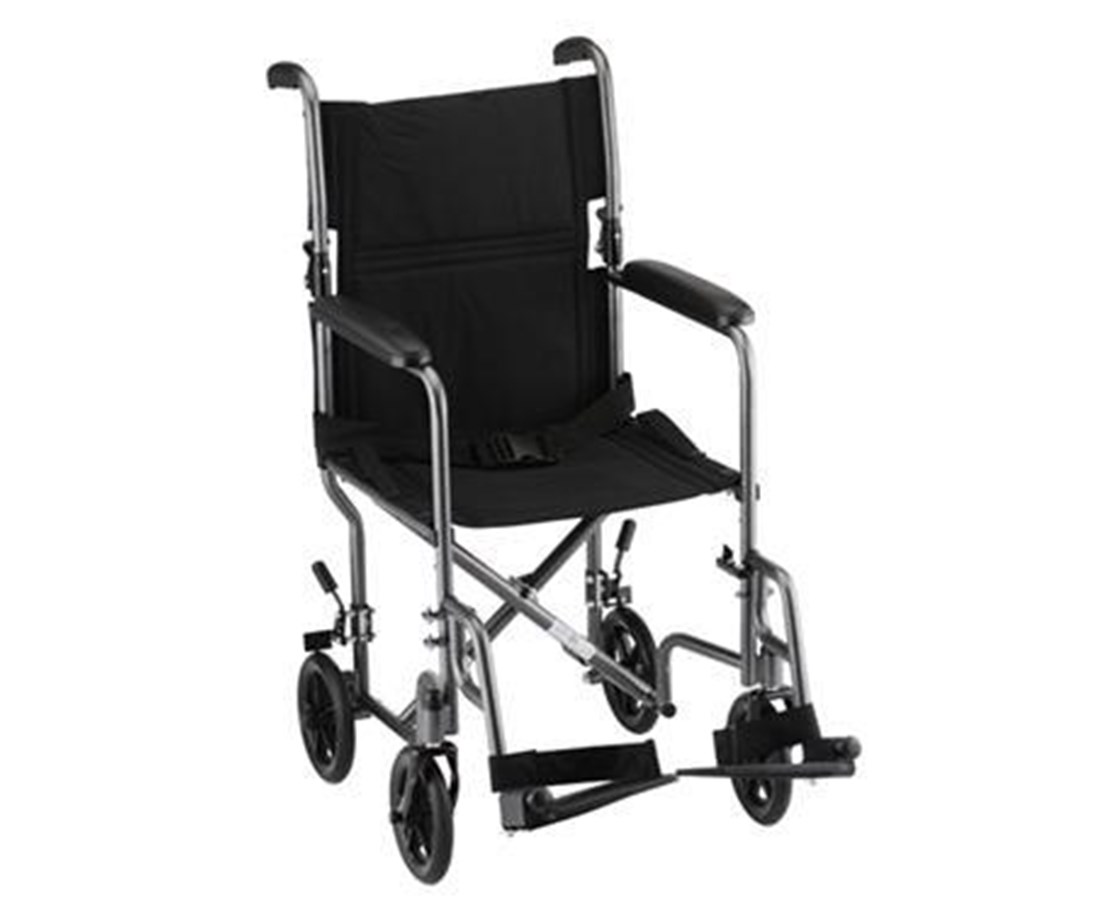 Nova 309 19-Inch Steel Transport Chair