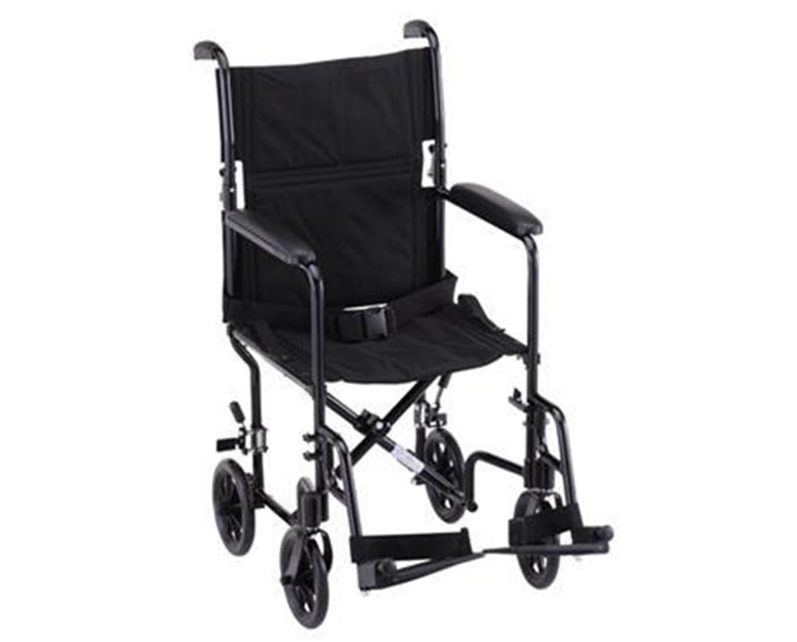 Nova 329BK Lightweight 19-Inch Transport Chair