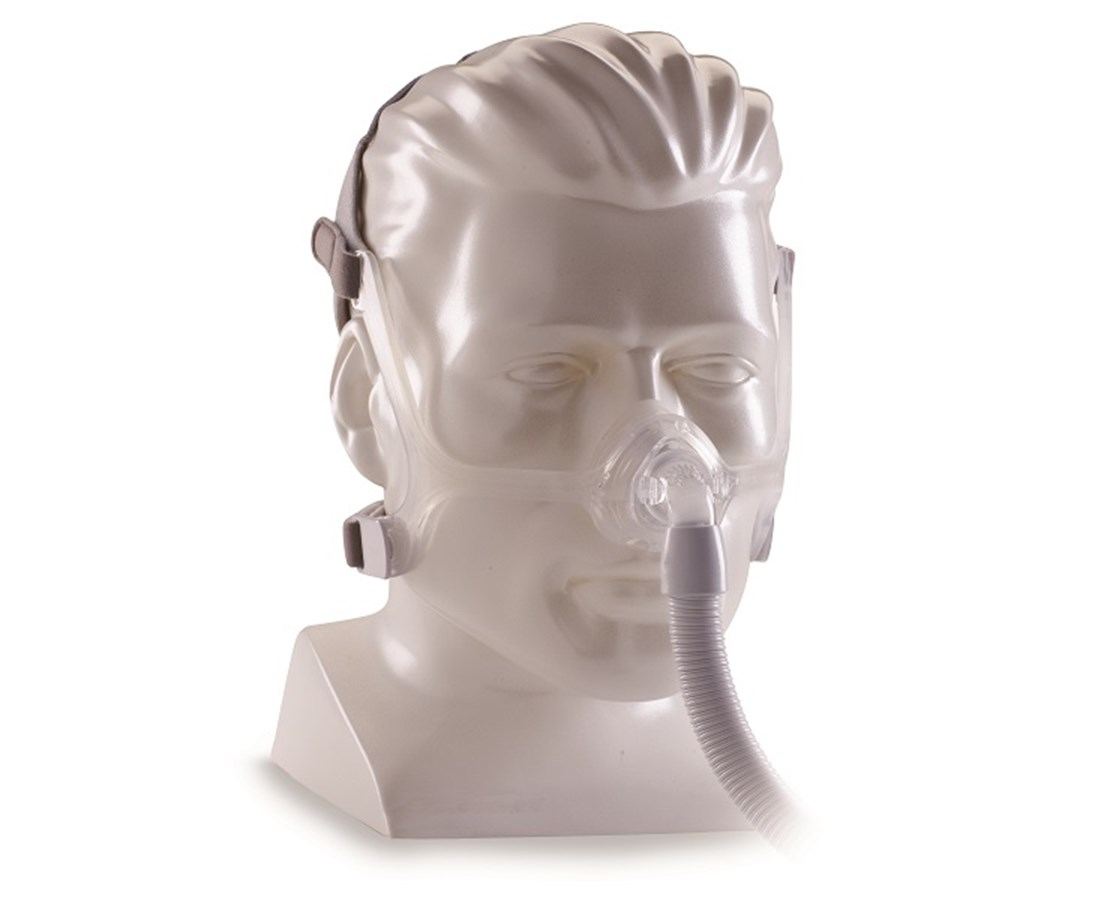 Wisp Nasal CPAP Mask with Headgear & 3 Cushions, Clear Frame PHI1094050