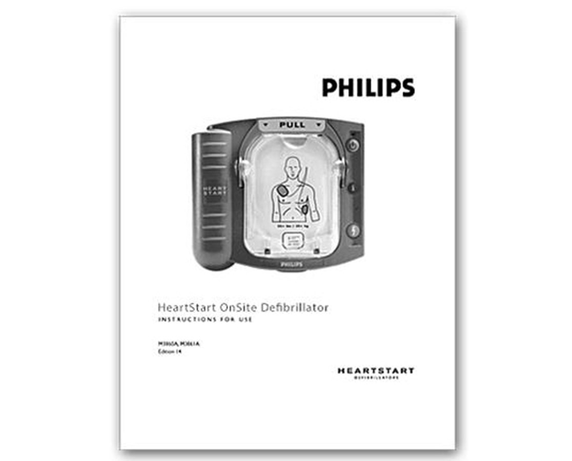 HeartStart OnSite Defibrillator Manual PHIM5066-91900