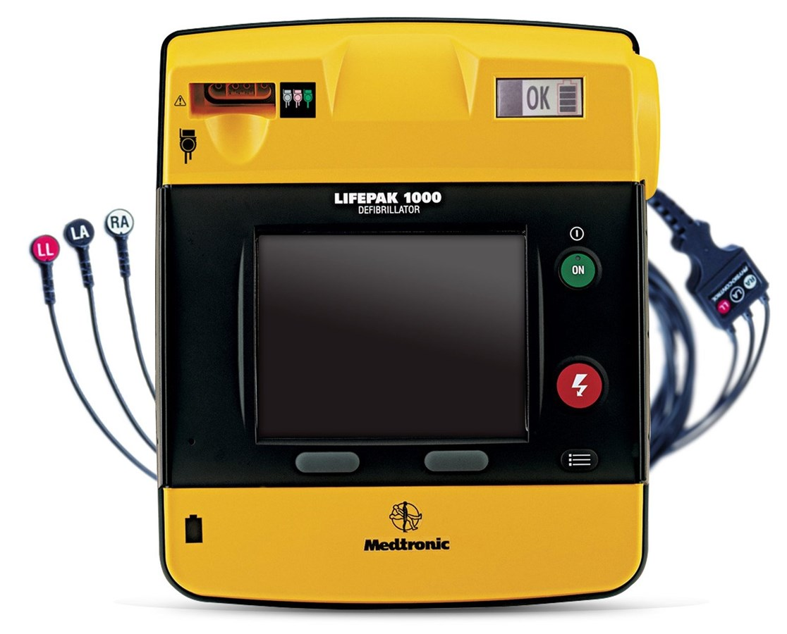 LIFEPAK 1000 ECG DIsplay AED PHY99425-000025