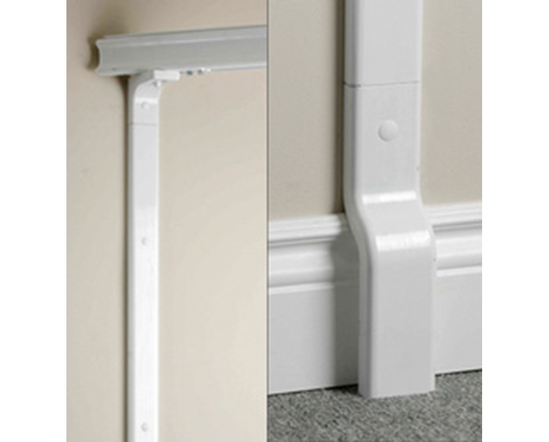 Wall Mount Free Standing 2-Post Track System PRS342100