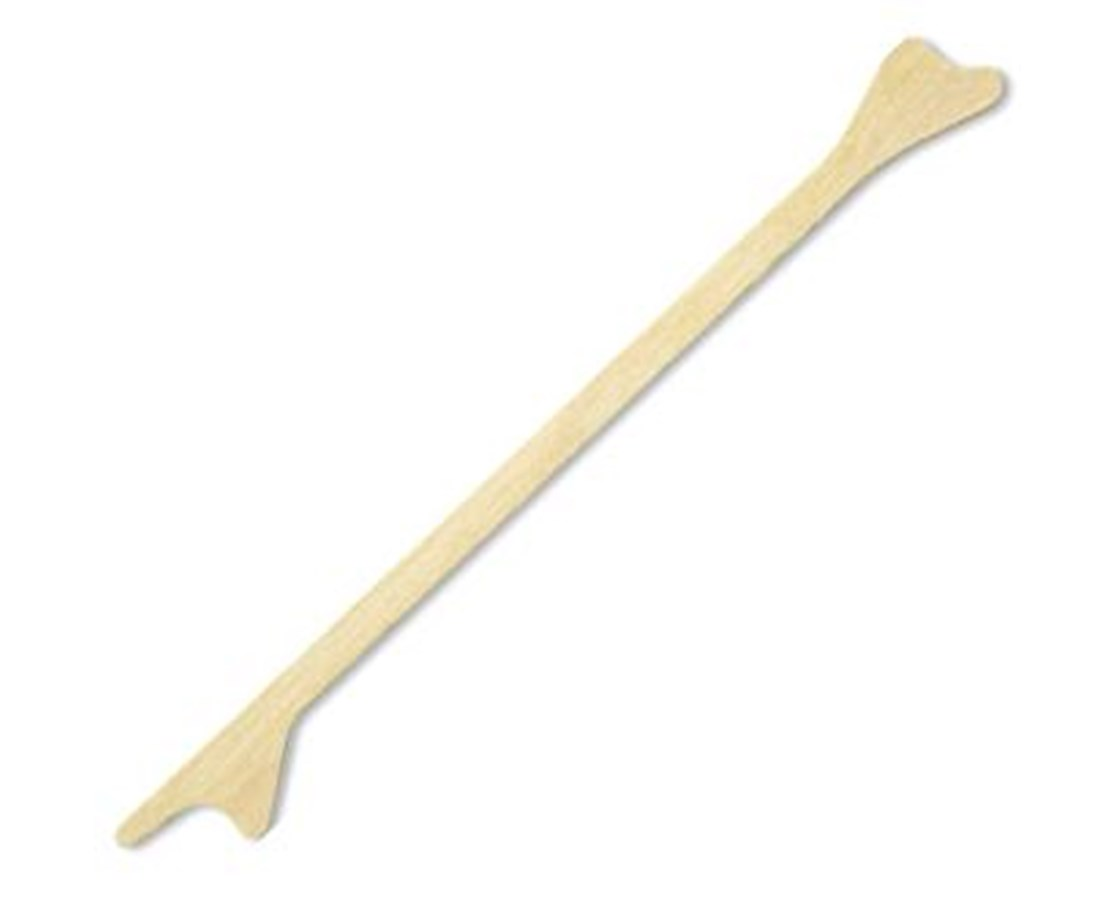 "Non-Sterile Double End 7"" Wood Cervical Scraper PUR2183"