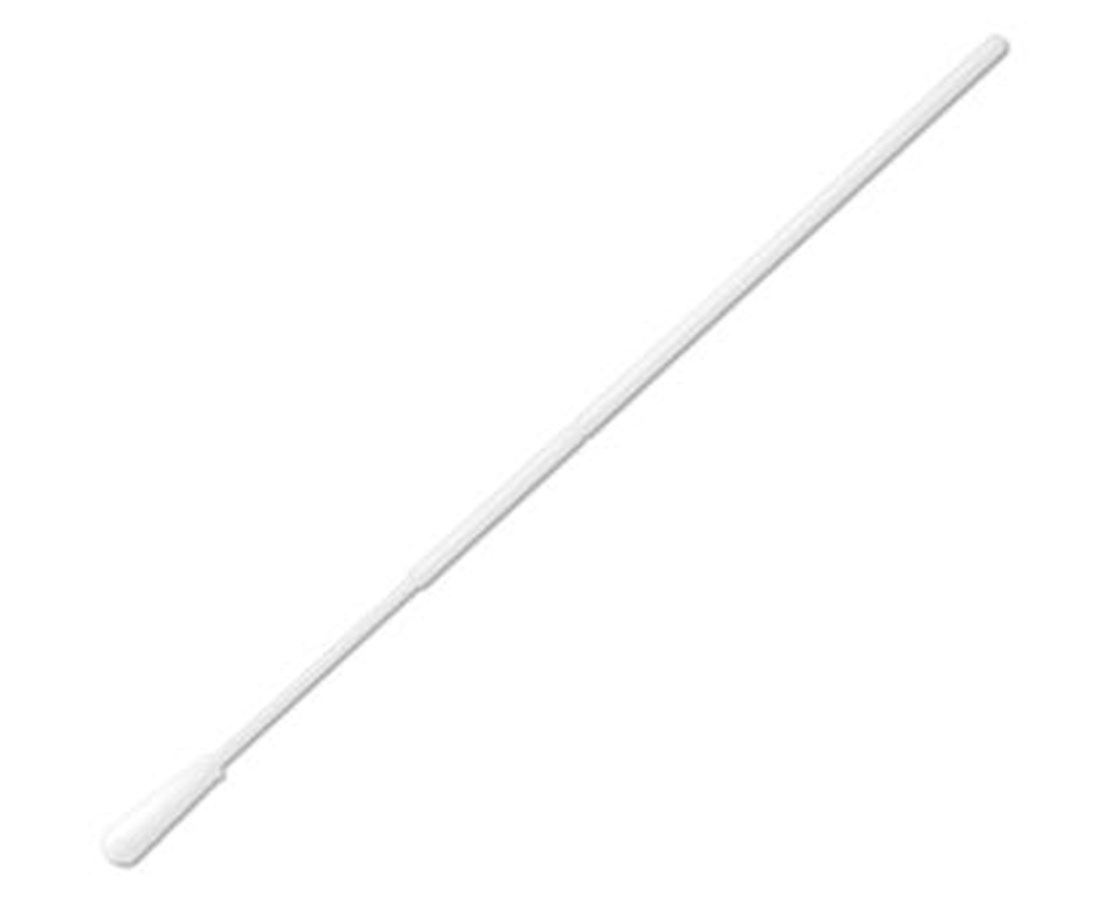 "6"" Sterile Standard Tipped Nylon Ultra Flocked Swab with Polystyrene Handle & Molded Break Point PUR25-3306-U"