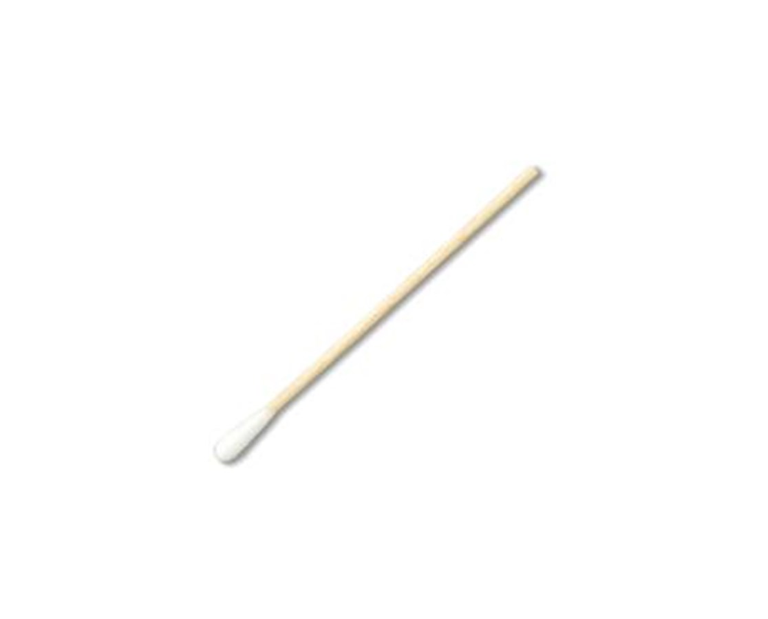 """3"""" Sterile Economy Cotton-Tipped Applicators with Wood Handle PUR25-803 2WC HOSPITAL"""