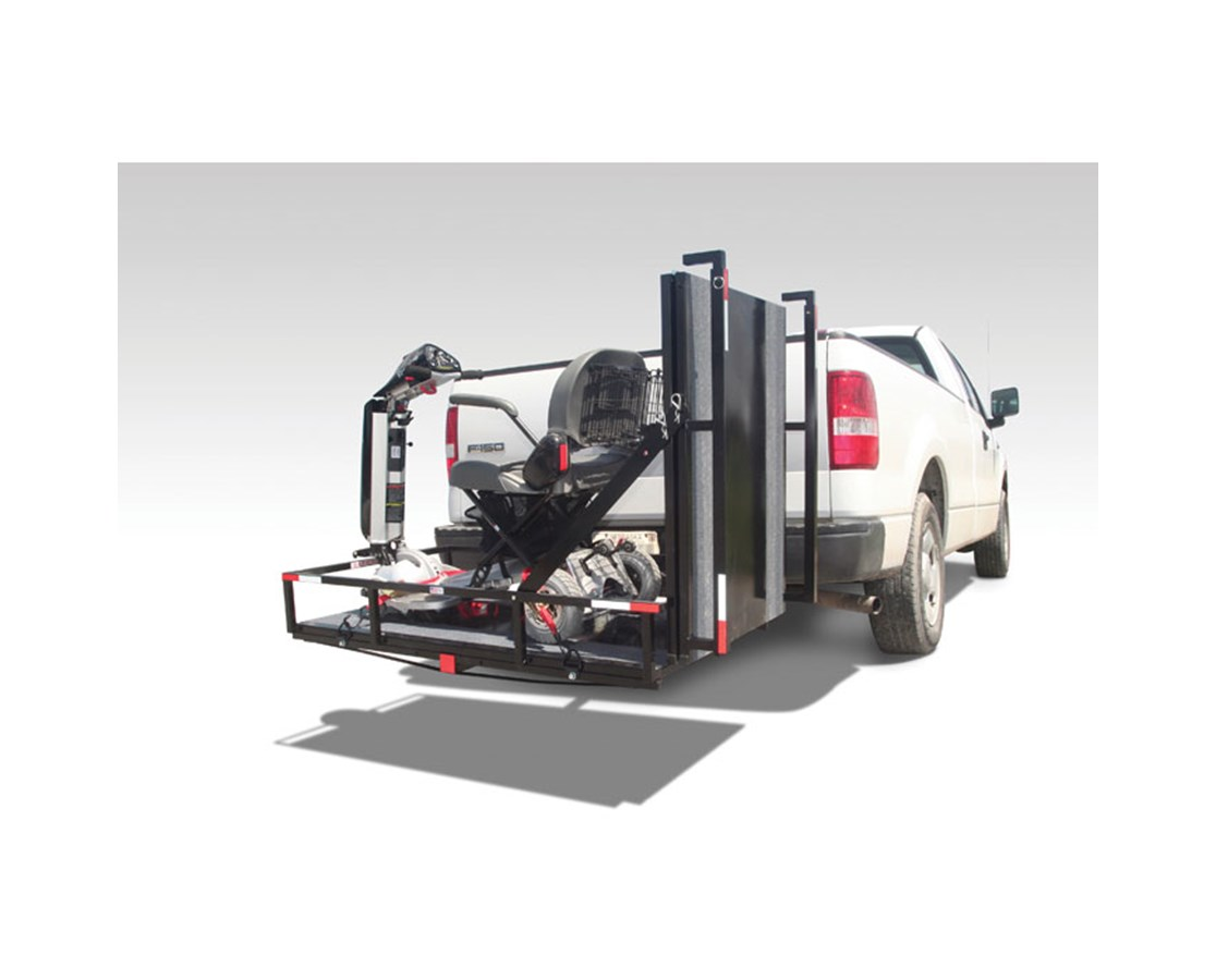 Scooter Carrier with 6' Ramp PVIMT3100