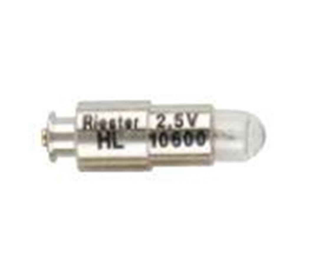 2.5V XL Bulbs for Ri-scope®, E-scope® & Ri-mini® Otoscopes, Pack of 6 RIE10600