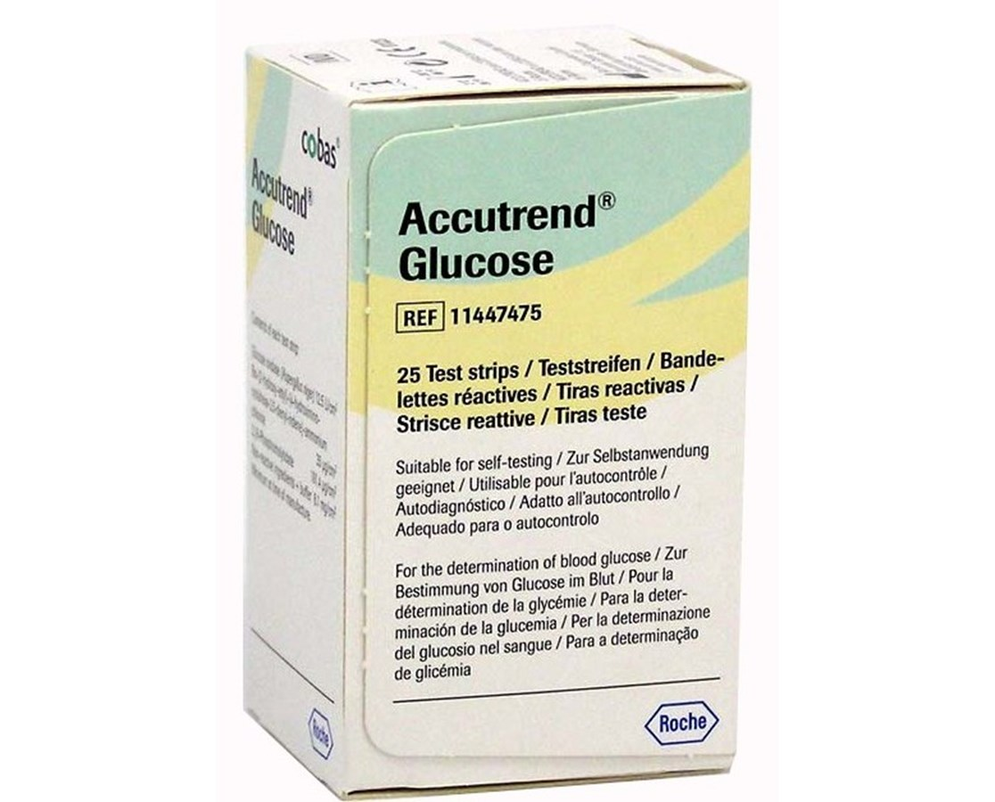 Accutrend® - Glucose Test Strips ROC11447475160