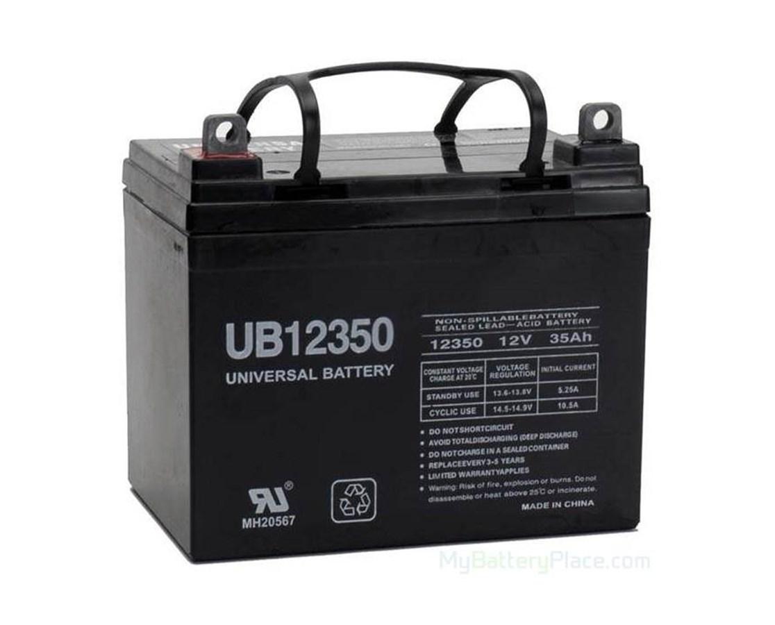 Replacement Battery for Streamer Sport Power Chair SHOBAT-U1