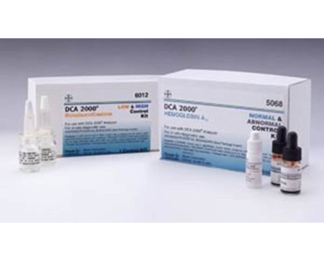 A1C Normal & Abnormal Control Combination Kit for DCA 2000, 4/kit SIE5068A