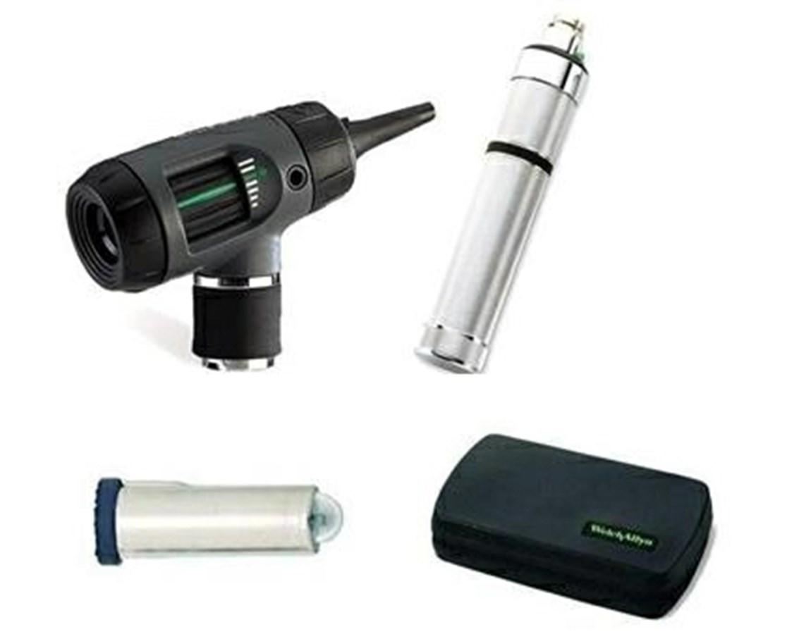 3.5v MacroView™/Pneumatic Otoscope with Optional Throat Illuminator WEL20270