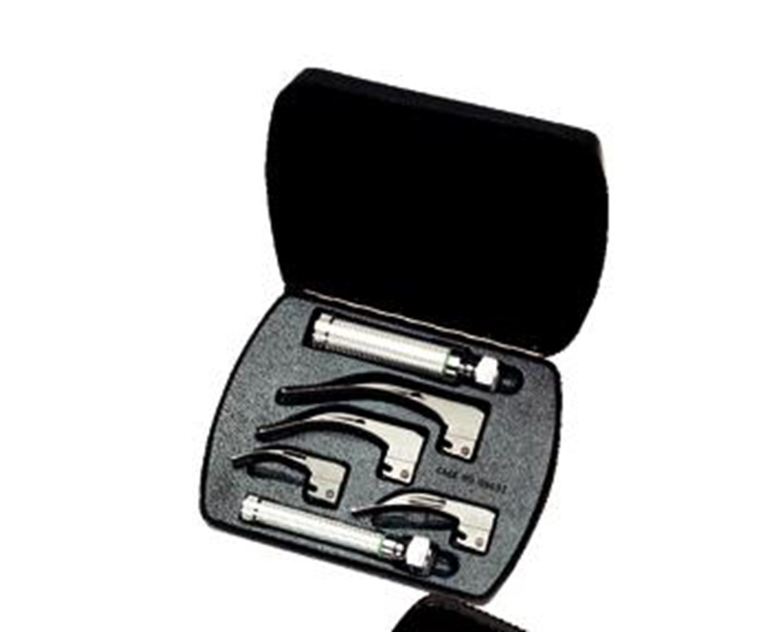 Fiber Optic Laryngoscope Set with Case WEL69696
