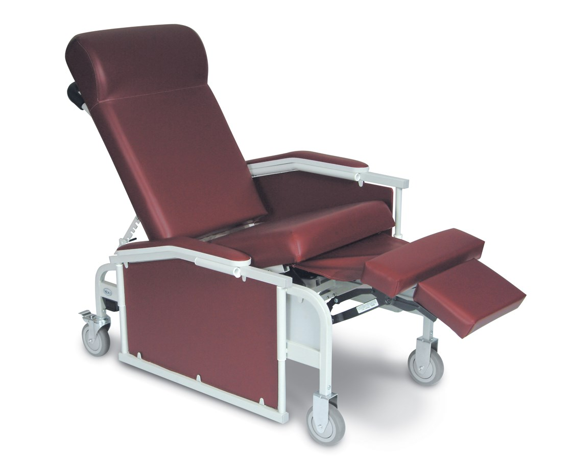 3-Position Drop Arm Convalescent Recliner WIN5281