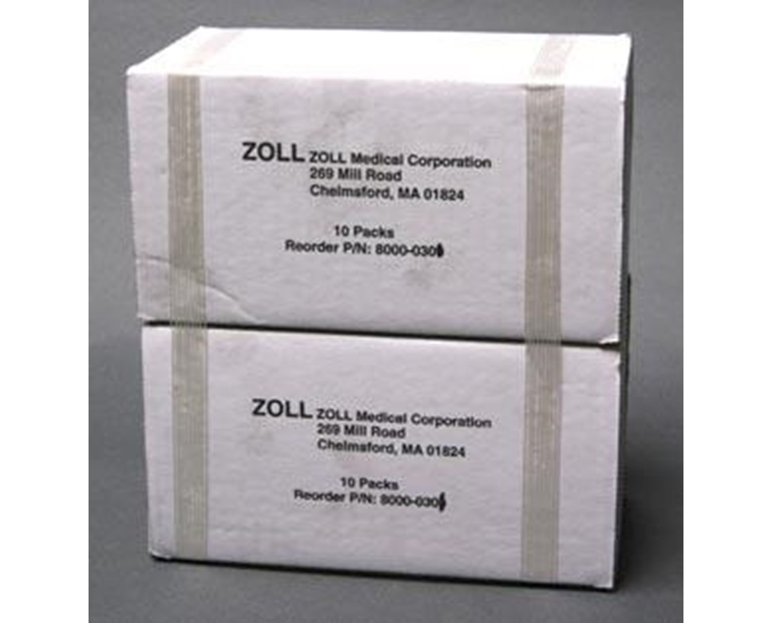 80mm Fanfold Paper for M Series Defibrillator, Case/20 ZOL8000-0301