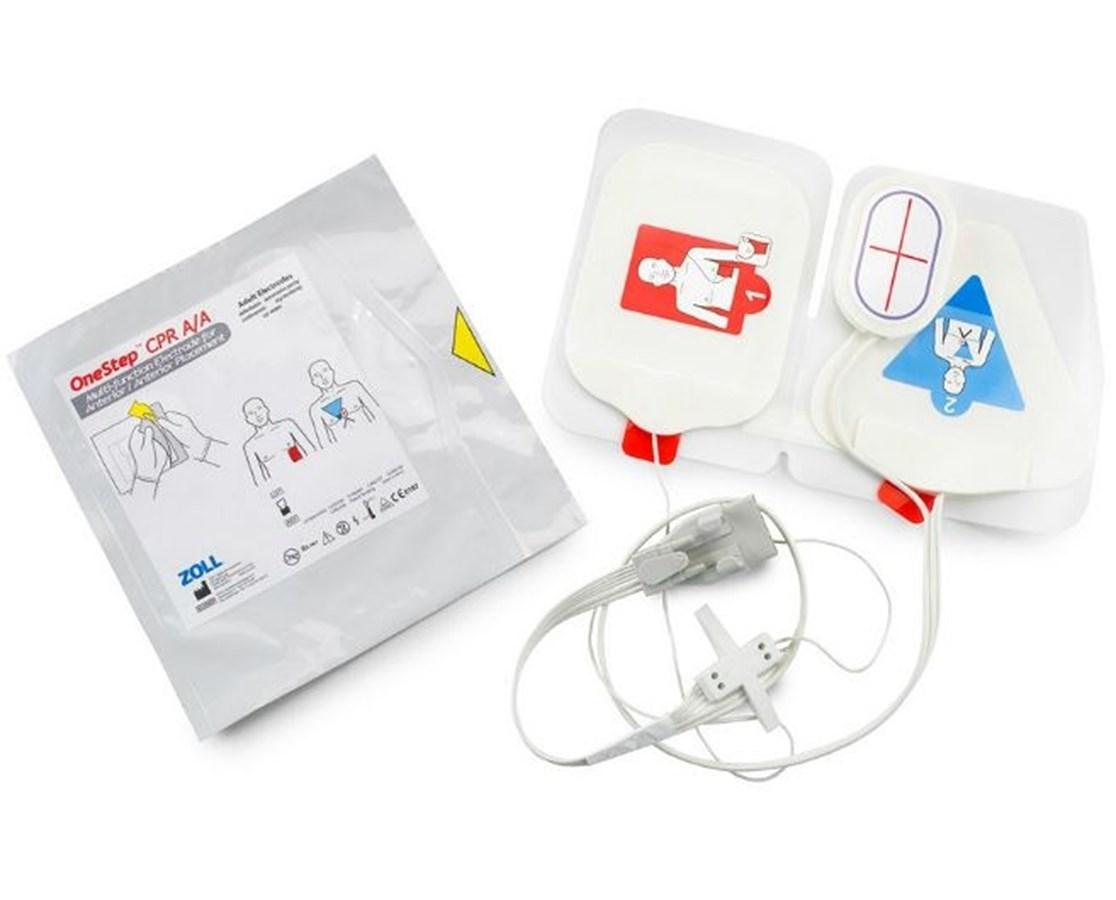 OneStep™ Complete Resuscitation Electrodes, Case ZOL8000-0214-01