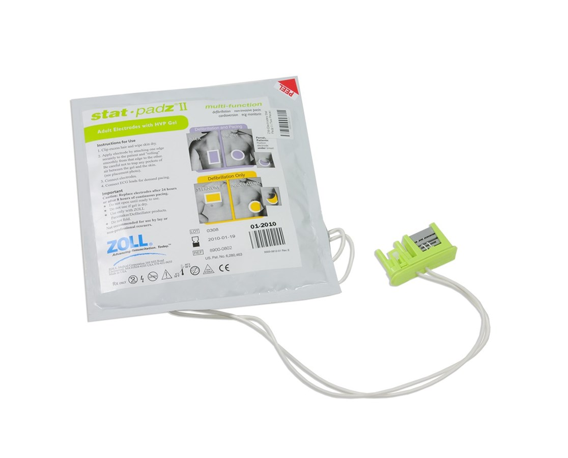 stat•padz® II Multi-Function Electrodes ZOL8900-0802-01
