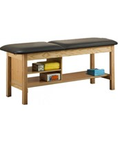 ETA Classic Series Treatment Table with Shelving CLI1030