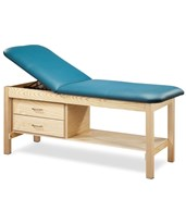 Eco-Friendly Wood Treatment Table with Drawers CLI81013-27-