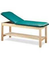Eco-Friendly Wood Treatment Table with Shelf CLI81020-24-